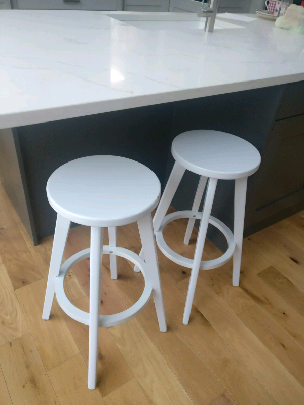 Astounding Stools Breakfast Bar Pale Grey Scandi Style In County Antrim Gumtree Bralicious Painted Fabric Chair Ideas Braliciousco