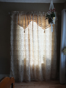 "84"" Rod Pocket Curtains"