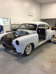 1951 Chevrolet Fleetline to be completed