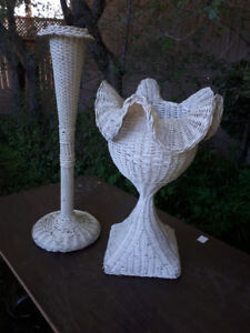 WICKER WEDDING FUNERAL PLANT STANDS