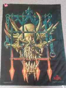 1998 Alchemy Gothic Chaos Incarcerated Fabric Poster Tapestry Prince George British Columbia image 1