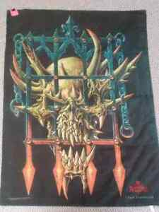 1998 Alchemy Gothic Chaos Incarcerated Fabric Poster Tapestry