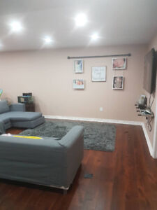 3 Bedroom (3 rooms) large size basement on the lake side