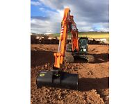 Experienced digger driver available
