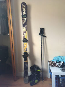 Armada all mountain ski & boot & pole