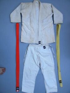 Kids Gi Karate, Judo Uniform Martial Arts Mikado 100% Cotton