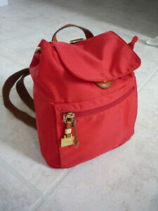 AUTHENTIC BRIC'S ITALIA SMALL RED BACKPACK PURSE $15