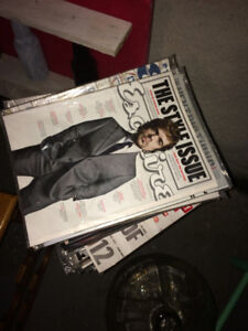 Esquire Magazines from 2012-2013