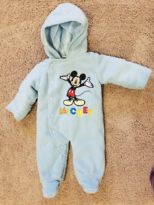 Mickey mouse Sleeper - 0 to 3 months