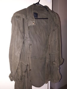 Talula Trooper Jacket, Aritzia -Olive Color, Size XS