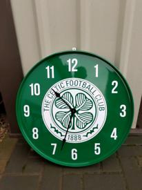 Celtic liverpool rangers man utd Chelsea arsenal oil drum clock