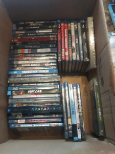 (NEW SEALED) BLUE RAY DVD MOVIE COLLECTION
