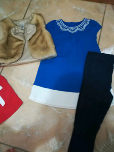 Sets of fancy christmas/winter outfits LOT 3T - All brand names