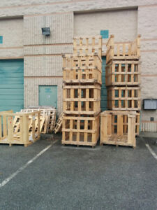 FREE WOODEN CRATES/FIREWOOD