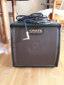 Crate Acoustic Amp For Sale