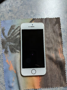 iPhone 5s 16GB and case