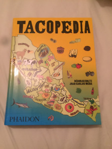 TACOPIDIA history of tacos book brand new