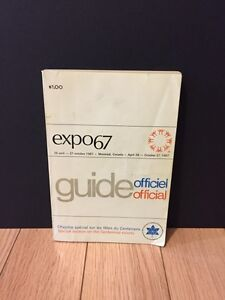 Guide officiel expo 67