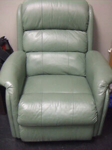 Leather Recliner - $300
