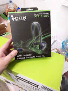 Xbox 360 Wired Headset