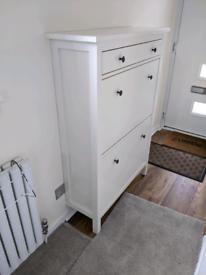 IKEA Hemnes shoe cabinet in white - brand new