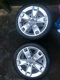 """Alloy Wheels & Tyres 17"""""""