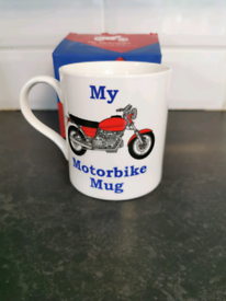 New My motorbike mug