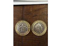 Magna Carta £2 coins (Rare)