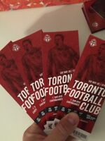 4 TFC tickets May 30th 5pm