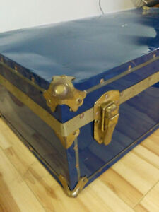1  Vintage Steamer Trunk
