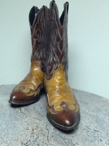 Men's handcrafted cowboy boots
