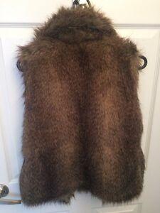 Faux fur brand new vest London Ontario image 3