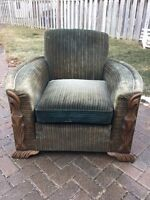OLD VINTAGE SITTING CHAIR....MAKE AN OFFER