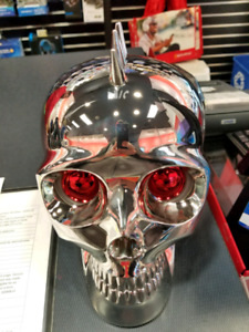 Skull bluetooth speaker first $60.00 takes it away