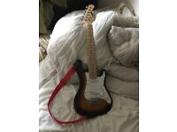 """Kids electric guitar 30"""" with new strap 6 string"""