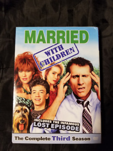 Married...With Children Season Three used DVD Box Set