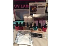 CCO/Gel Nail Set, UV lamp, 6 colour polishes and loads more