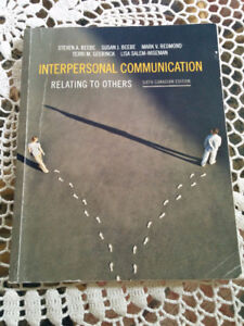 Interpersonal Communication 6th edition