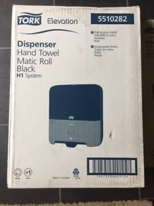 Tork toilet paper and Hand towel dispenser 30.00