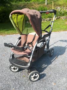 sit-n-stand stroller