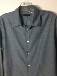 FS: John Varvatos Star USA M Button Shirt Lightweight Cotton