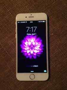 NEEDS TO GO ASAP UNLOCKED IPHONE 6 16GB SILVER/WHITE
