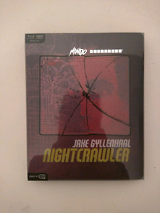 Nightcrawler exclusive mondo steelbook bluray/dvd/digitalhd MINT