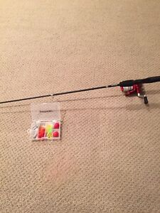 Shakespeare telescopic fishing rod