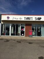 Locally owned THRIFT STORE for sale!