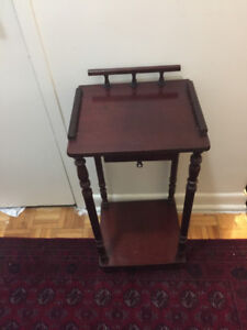 Vantage telephone table with drawer