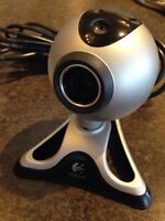Logitech Webcam - great for conference call or skype