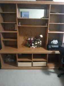 Entertainment Unit  and TV table  London Ontario image 1