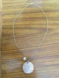 Sterling Silver Gucci Pendant Necklace Kitchener / Waterloo Kitchener Area image 1