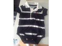 Ralph Lauren baby boy vest.